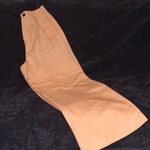 Zara wide leg trouser camel color Sz. XS